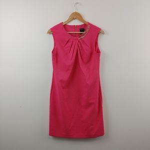 GABBY SKYE | Hot Pink Midi Sleeveless Dress Size 6